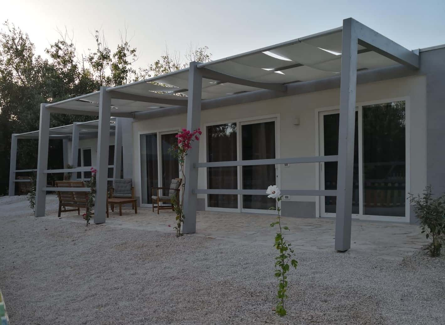 esterno4 OSTUNI PENSIONE COMPLETA ALL INCLUSIVE HOTEL CLUB SANTA SABINA